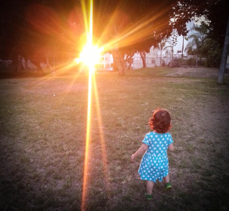 בתמונה: השמש הפרטית שלי